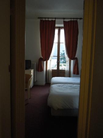 Hotel Le Beau Site: Room at Hôtel Beau Site, Talloires Apr 28 2012