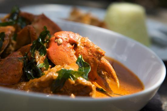 The Wallawwa : Crab Curry