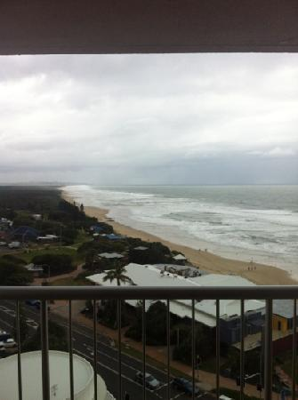 Coolum Caprice Luxury Holiday Apartments: the view from level 11