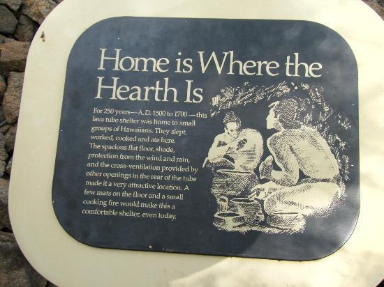 Mauna Lani Historic Park : はるか昔、ハワイアンが生活をしたといわれている