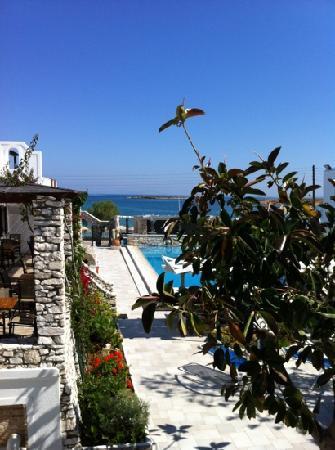 Contaratos Beach Hotel: from my room