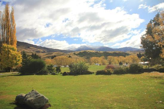 Waiorau Homestead: view from the Homestead