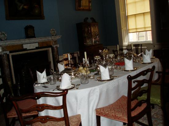 Fairfax House : questa è la sala da pranzo
