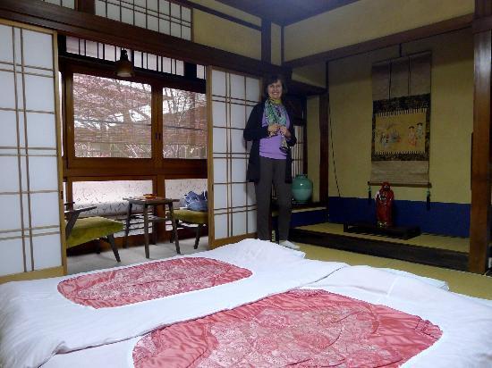 Ryokan Okuda room
