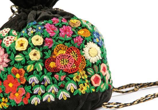 Fashion museum: Decorative Handbag at Musee de la Mode