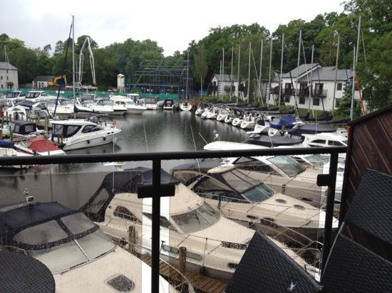 Windermere Marina Village: view from our balcony