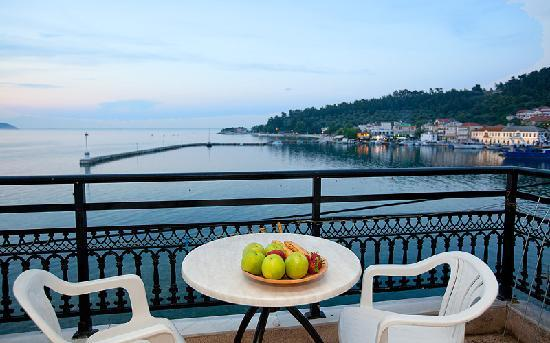 Hotel Angelica: Sea view balcony