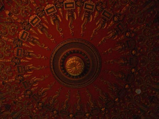 Romanian Athenaeum (Ateneul Roman): the_ceiling