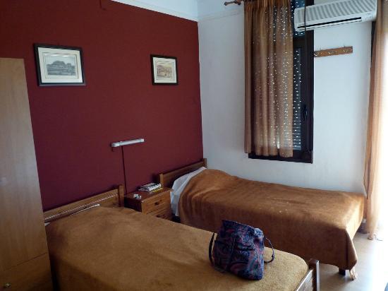 Hotel Tempi: twin room