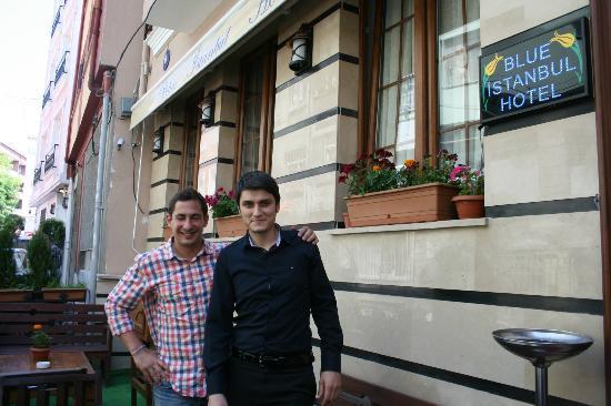 Blue Istanbul Hotel: Jean & Ozcan