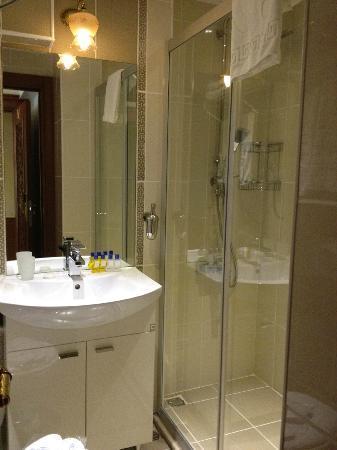 Blue Istanbul Hotel: bath