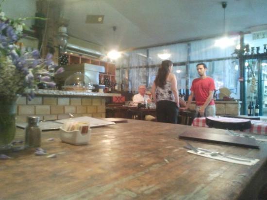 The indoor part of Makom Balev