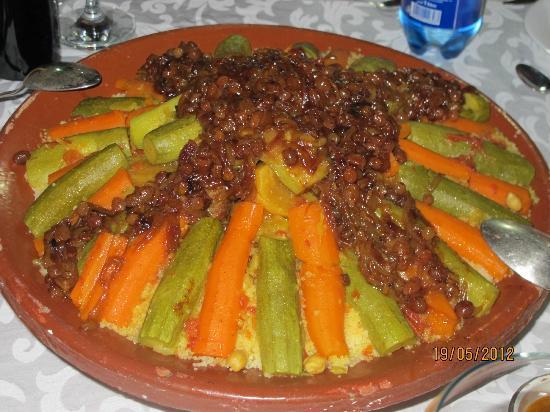 Dar Tougga: couscous de Aïcha