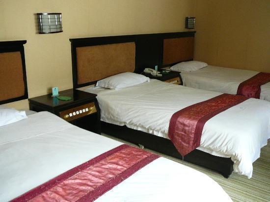 Regency Holiday Hotel : super hard bed