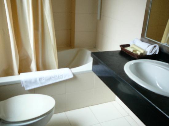 Regency Holiday Hotel : the bath room