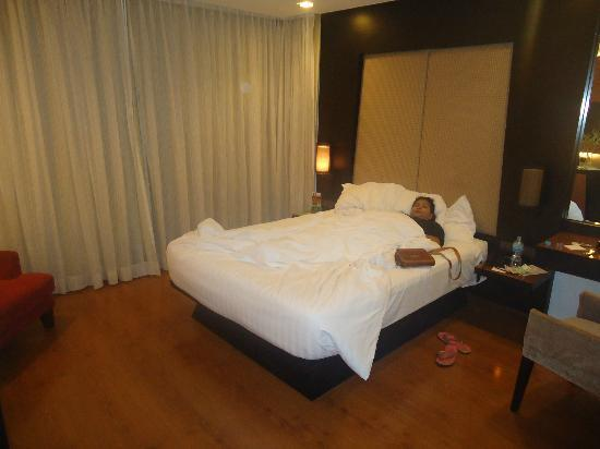 SilQ Bangkok Hotel: our Deluxe Room