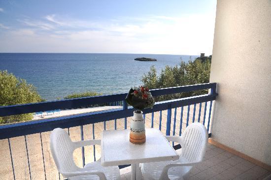 Hotel Baia delle Sirene: vista mare