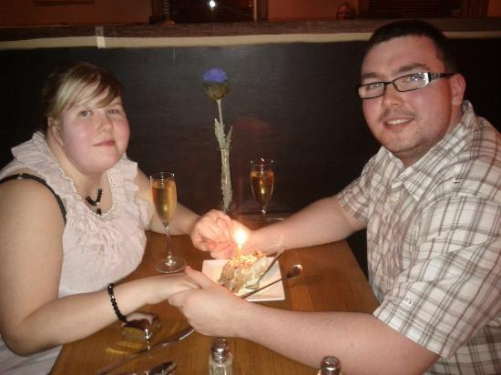 Lamlash Bay Hotel : Dinner for 2... and the Proposal
