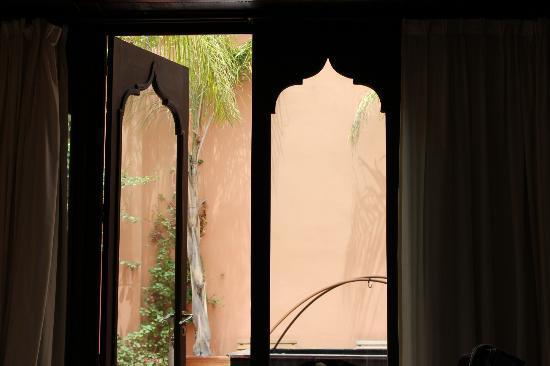 Riad Hayati: Doors to the terrace