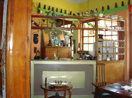 Abbaba's Villa: the bar