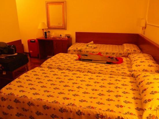 Hotel Italia: our room