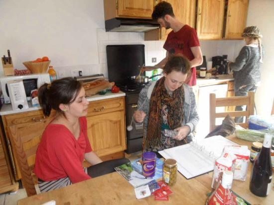 Chalet La Giettaz: Cooking at La Giettaz
