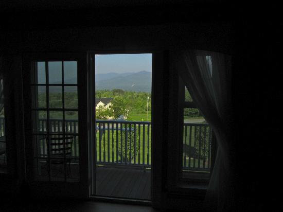 The Victorian on Sunset Hill: View from our bed!