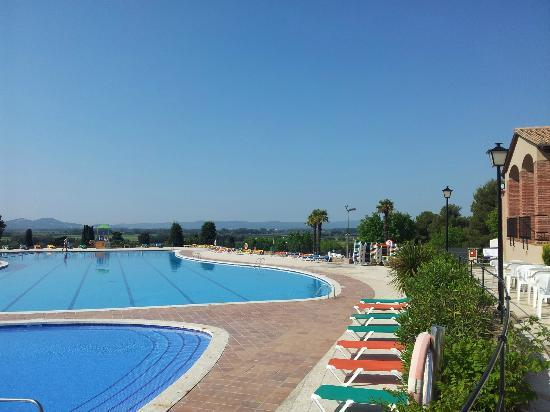 Camping Castell Montgrí: pool