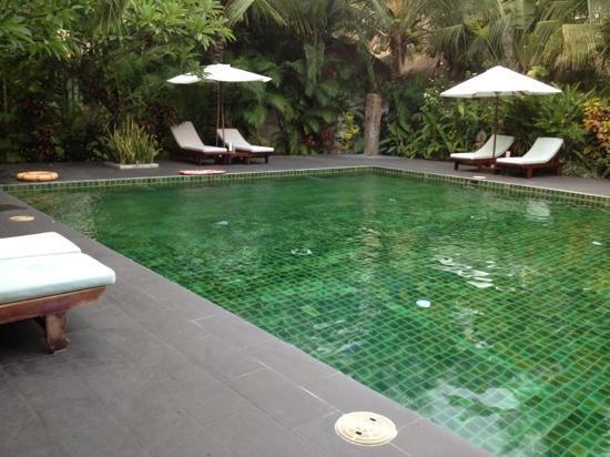 Cham Villas: kleiner sehr gepflegter Pool