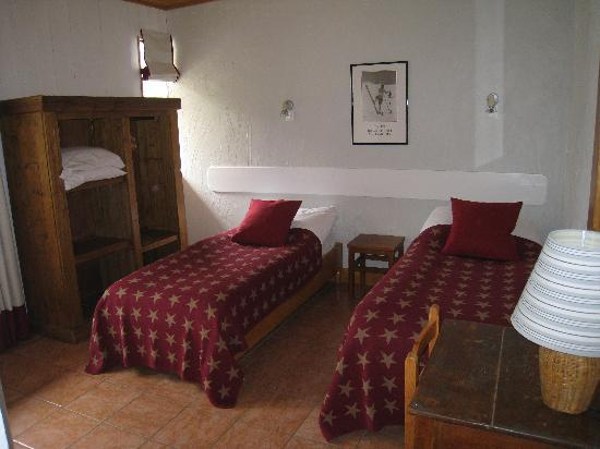 Hotel La Chaumiere: Twin Room