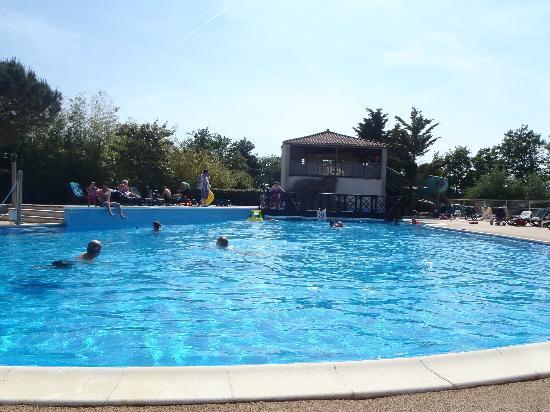 La Garangeoire: The main swimming pool