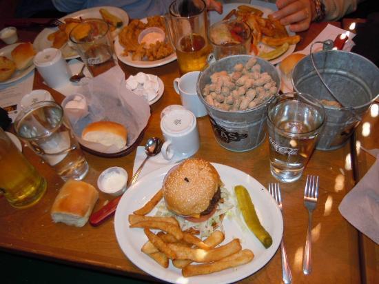 Texas Roadhouse: selection of my food. mmmmmmmmm