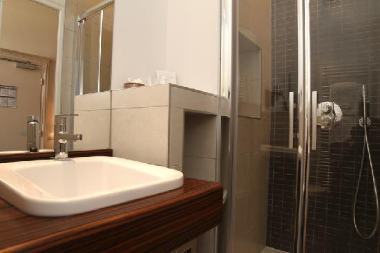 Hotel de Biencourt: Salle de bain