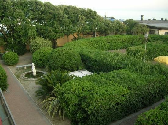 Ostello Apuano: il giardino