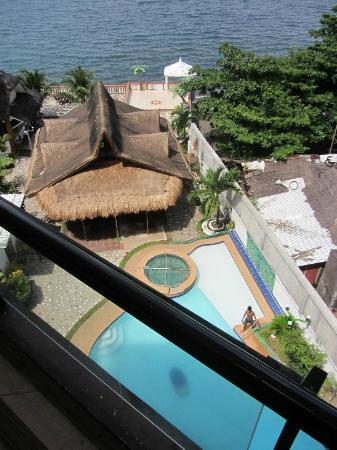 Jaimees Hotel & Resort: view from gym
