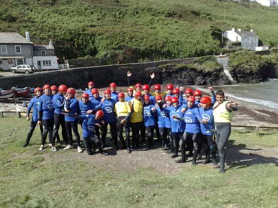 Polzeath, UK: Coasteer Group