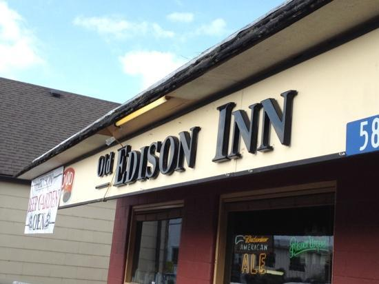 The Old Edison: sign