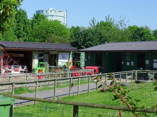 Battersea Park Children's Zoo: inside zoo