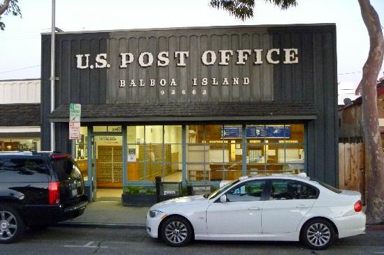 Newport Beach, CA: Balboa Island Post Office