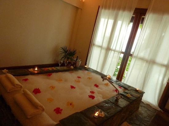 bain en amoureux au spa photo de kuramathi island resort kuramathi tripadvisor. Black Bedroom Furniture Sets. Home Design Ideas