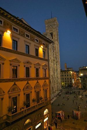 Palazzo Ruspoli: La vista dalla nostra camera