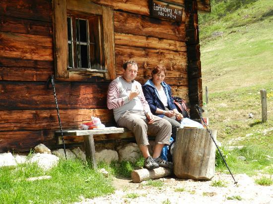 Pension Berganemone: Wandertour zur Lattenbergalm
