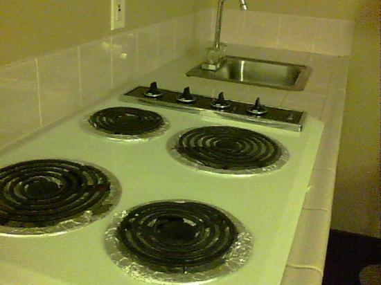 Clarion Inn & Suites: A kitchen in the room?