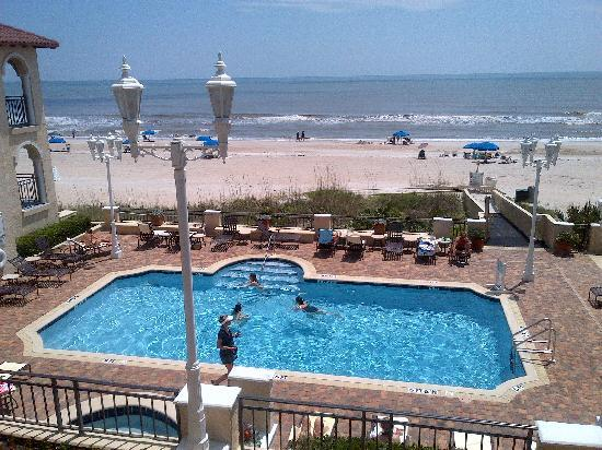The Lodge and Club at Ponte Vedra Beach: pool area from balcony rm. 403