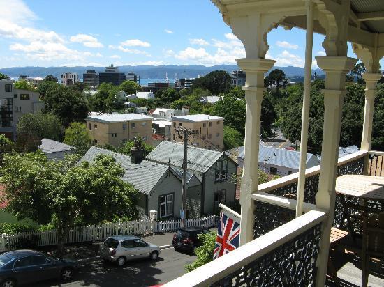 Gardens Homestay: Blick vom Balkon