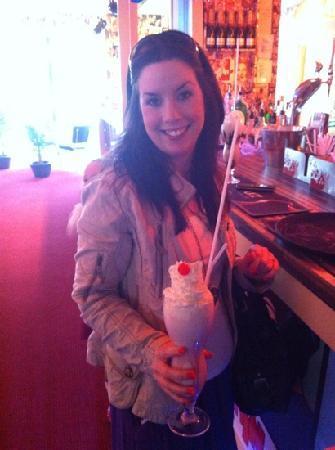 Detroits : milk shake !!