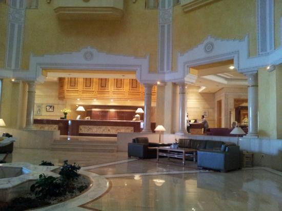 Hotel Mehari Hammamet : Réception et Hall d'entrée