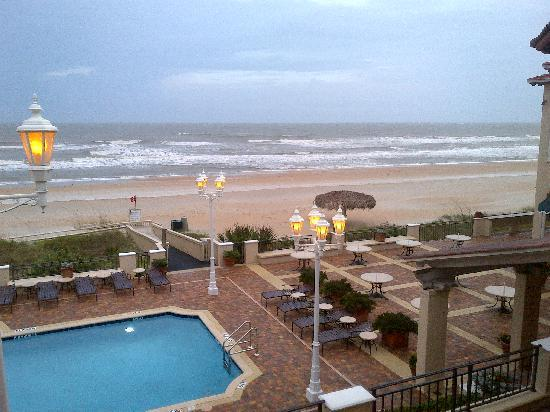 The Lodge and Club at Ponte Vedra Beach: just after the tropical storm passed