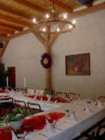 Hotel Garni Sonnenhof: Veranstaltungsraum - Scheune