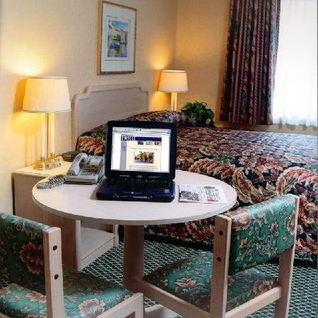 Skaneateles, Νέα Υόρκη: Hotel room one Queen Pillowtop